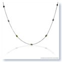 Mark Silverstein Imagines 18K White Gold and Platinum Fancy Diamond Necklace