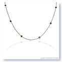 Mark Silverstein Imagines 18K White Gold and Platinum Fancy and White Diamond Necklace