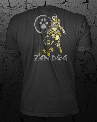 ZEN DOG LADY VIKING GUARD