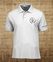 Zen Dog Polo Shirt