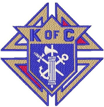 Knights of Columbus Head Panel Insert