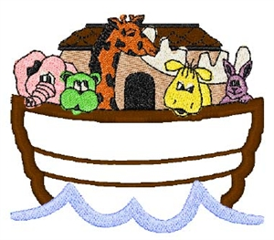 Noah's Ark Head Panel Insert