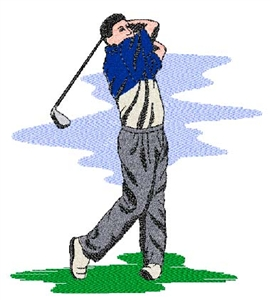 Golfer Head Panel Insert
