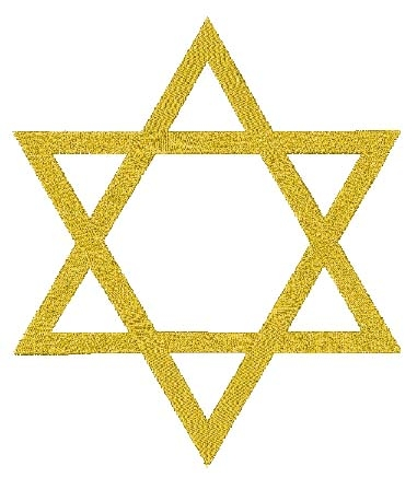 Star of David Head Panel Insert