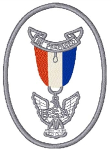 Eagle Scout Emblem Head Panel Insert