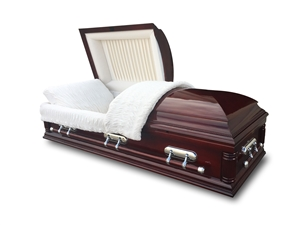 Estate Oversize Poplar Wood Casket