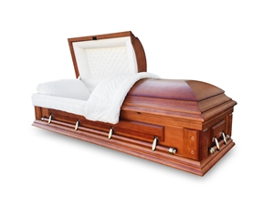 Oak - Solid Wood Casket