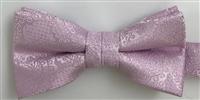 1700 Pink Paisley Wedding Boy's Bow