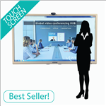 "75"" VIZMAR® Global HUB Touch™"