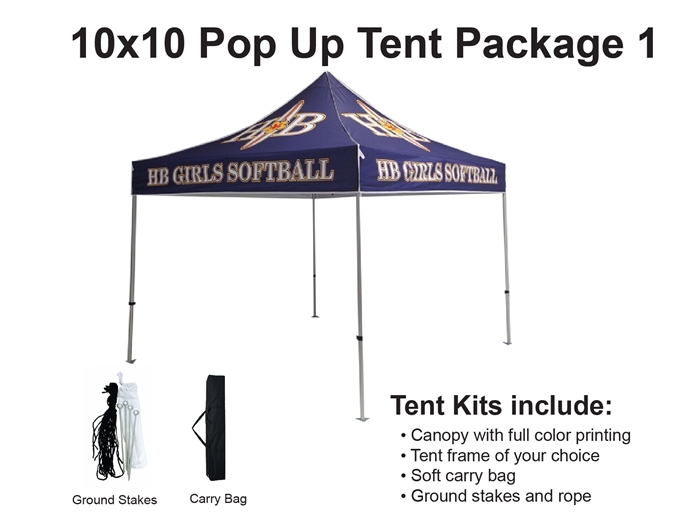 Email Us Your Custom ...  sc 1 st  Banner and Flag Wholesalers & 10 X 10 EVENT TENT W/CUSTOM PRINTED CANOPY Lowest NET Price - from ...