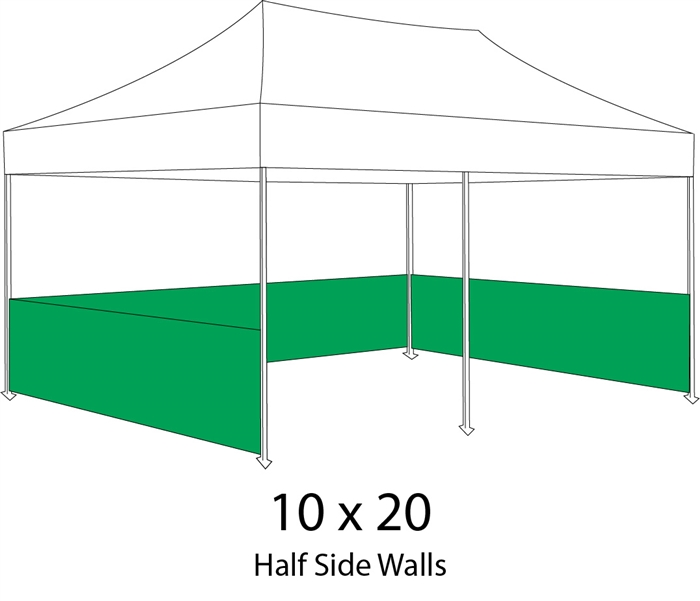 10 X 20 Event Pop Up Tent W Custom Printed Canopy Lowest NET Price