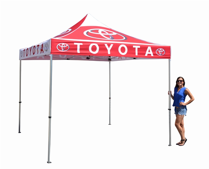 10 X 10 POP-UP EVENT TENT W/ STOCK CANOPY- LUXURY AUTO DEALER LOGOS  sc 1 st  Banner and Flag Wholesalers & X 10 POP-UP EVENT TENT W/ STOCK CANOPY- LUXURY AUTO DEALER LOGOS