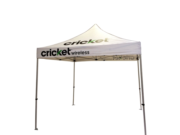 10 X 10 POP-UP EVENT TENT W/ STOCK CANOPY- MOBILE WIRELESS LOGOS  sc 1 st  Banner and Flag Wholesalers & X 10 POP-UP EVENT TENT W/ STOCK CANOPY- MOBILE WIRELESS LOGOS