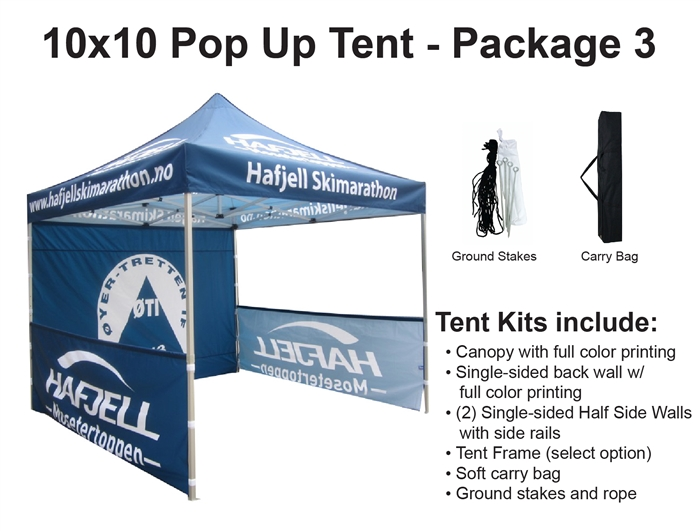 Alternative Views  sc 1 st  Banner and Flag Wholesalers & X 10 POP-UP EVENT TENT - PACKAGE 2