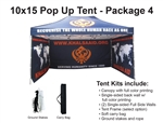10 X 15 POP-UP EVENT TENT - PACKAGE 4