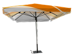 9.84' x 9.84'-CUSTOM PRINTED OUTDOOR SQUARE UMBRELLA