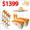 10 X 10 POP-UP EVENT TENT BUNDLE