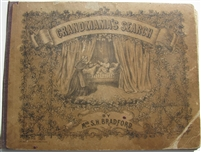 Grandma's Search Antique Movable Book first edition 1800's lift the flap