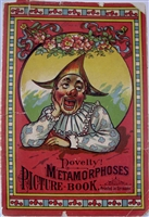 Novelty! Metamorphoses picture book - Antique movable slice flap book
