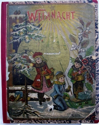 Weihnacht 1890 Lift the Flap book by Oehmigke & Riemschneider