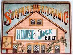 Dean & Son - Surprise panoramic - House That Jack Built  - movable book c: 1887