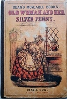 Dean & Son antique movable book Dean's Movable Books. Old Woman and Her Silver Penny