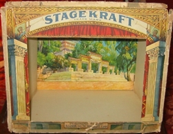 Antique toy theater by Stagekraft