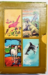 "Hallmark's First pop-up book! Scarce complete set of 4 mini pop-up books in thier original  slipcase -  ""The Collection of Hallmark Animal Pop-Up-Books"""