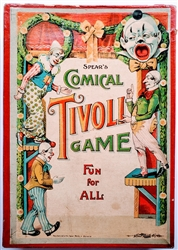 Spear's Comical Tivoli Game with movable clowns