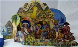 Kubasta Nativity - 1972 -Loretansky Betlem pop-up