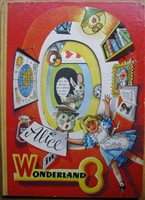 Kubasta Panascopic pop-up book Alice In Wonderland