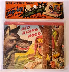 Kubasta Red Riding Hood - 1961 Pop-up book - Mint in original packaging