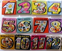 Kubasta The Counting Series First Editon 1963-1965 - complete set