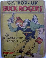 Buck Rogers Midget pop-up book