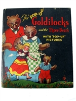 The Pop-up Goldilocks book Blue Ribbon press book