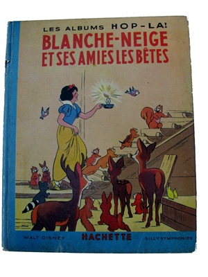 vintage pop-up book Blanche-neige  - Hop-La - French