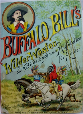meggendorfer Buffalo Bill's Wilder Westen pop-up book