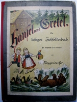 Meggendorfer - Hansel und Gretel antique movable book