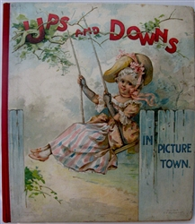 nister  Ups and Downs In Picture Town movable book