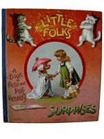 Antique Movable Book Nister - Little Folks Surprises
