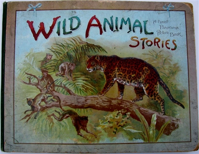 Antique Movable Book Nister - Wild Animal Stories