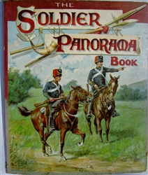 Nister - The Soldier Panorama Book - 1800's pop-up book - complete