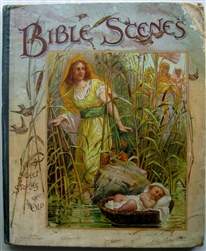 Nister -Bible Scenes and Sweet Stories of Old - Pop-up 1897 Complete & Working