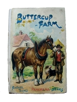 Antique Movable Book Raphael Tuck Buttercup Farm