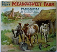 Father Tuck's Meadowsweet Farm Panorama book Panorama