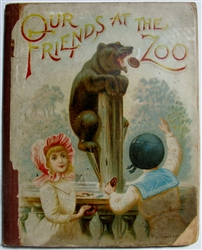 Our Friends at the Zoo - Raphael Tuck movable bookPanorama
