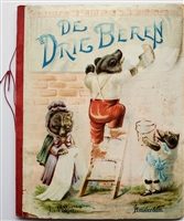 Die Drie Beren - published in Amsterdam by J. Vlieger - Raphael Tuck movable book