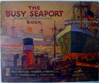Raphael Tuck - Busy Seaport Panorama - With Movable Pictures book