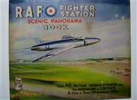 Father Tuck's RAF Fighter Station Panorama with Movable Pictures book Panorama