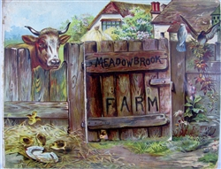 Raphael Tuck Meadow Brook Farm - Pop-up